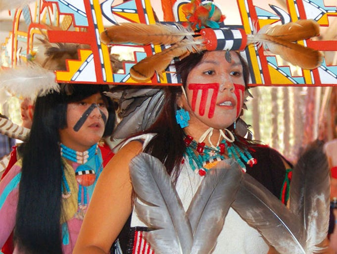 The Nuvatukya'ovi Sinom Dance Group will be performing their traditional Buffalo dance at the Hopi Festival of Arts and Culture at the Museum of Northern Arizona in Flagstaff.