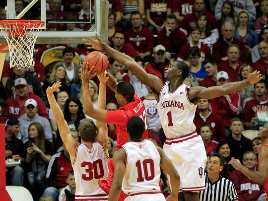 Indiana's Noah Vonleh against Samford in November.