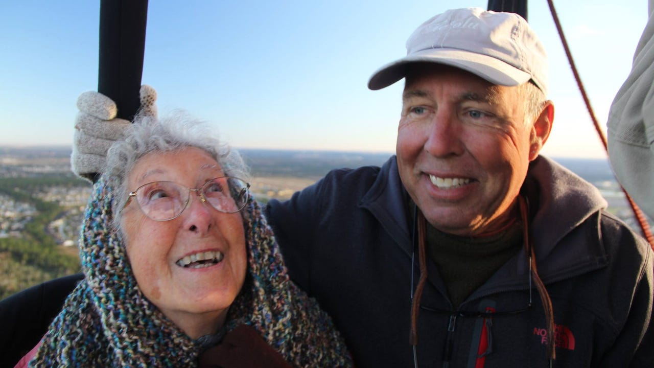90-year-old forgoes chemo for trip of a lifetime