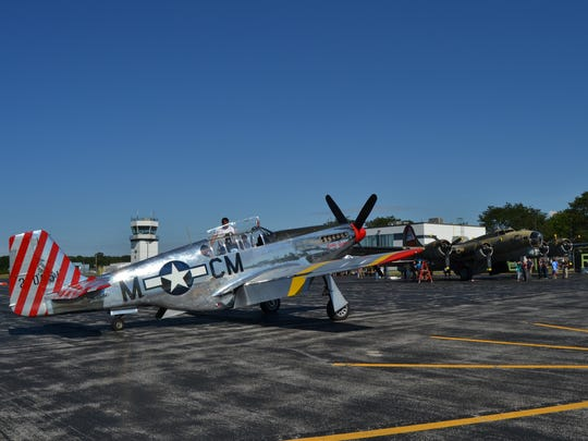 The Wings of Freedom Tour touches down at Dutchess County Airport.