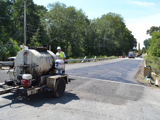 Paving work begins Thursday, Aug. 25, on a section of Nanticoke Road that has been closed since June 28