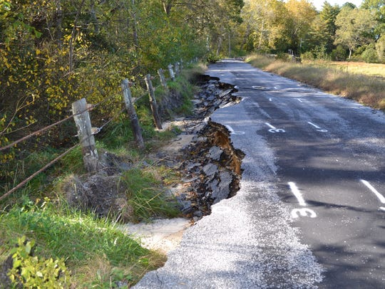This section of Barren Creek Road near Mardela Springs