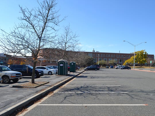 Parking Lot 10 in downtown Salisbury is scheduled to
