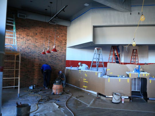 Jimmy John's is finishing a remodel at an existing building on the city's Southside near the intersection of South Staples Street and Saratoga Boulevard on Tuesday, Dec. 6, 2016. They plan to open around Jan. 10, 2017.