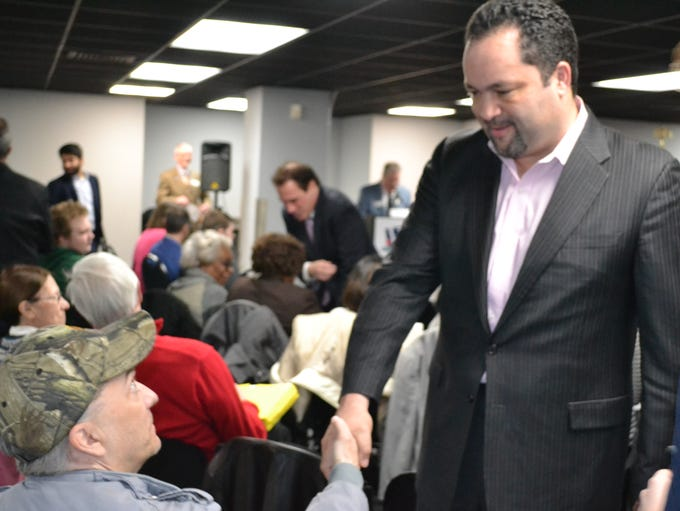 Ben Jealous, a Democratic candidate for governor, talks
