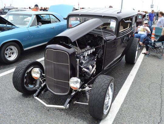 This 1932 Ford owned by Alan Buss of Emmaus, Pennsylvania,