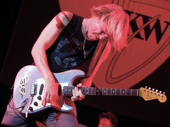 Kenny Wayne Shepherd performs in 2015 in the MontBleu Showroom at the MontBleu Resort in Nevada.