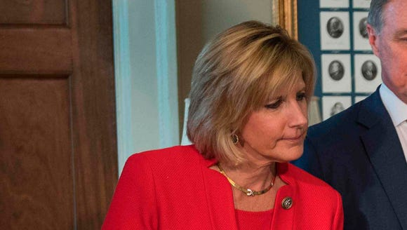 Rep. Claudia Tenney, R-N.Y., and Sen. David Perdue,