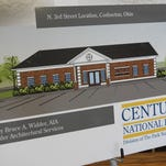 Century National Bank will start construction on a second Coshocton facility