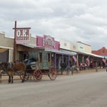 Tombstone, Arizona, is best known for the Gunfight at the O.K. Corral but offers tourists many historical artifacts of the Wild West.