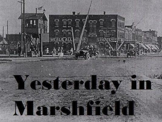Yesterday in Marshfield