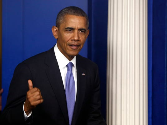 AP APTOPIX Obama Budget Battle