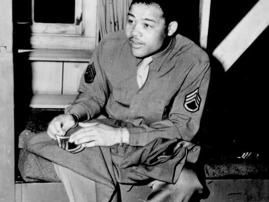 When the U.S. joined the war in 1941, Joe Louis was
