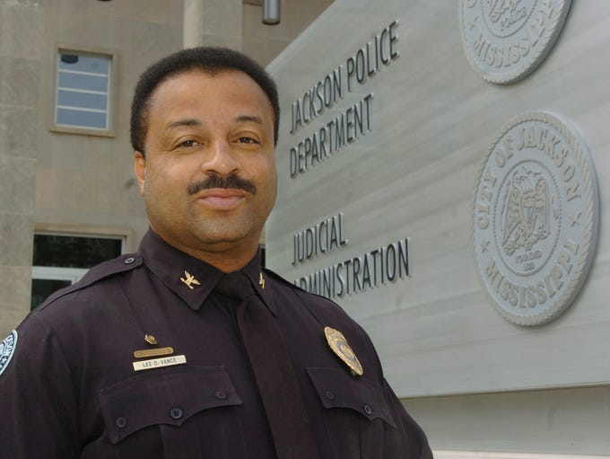 Jackson Police Department Cmdr. Lee Vance is commander