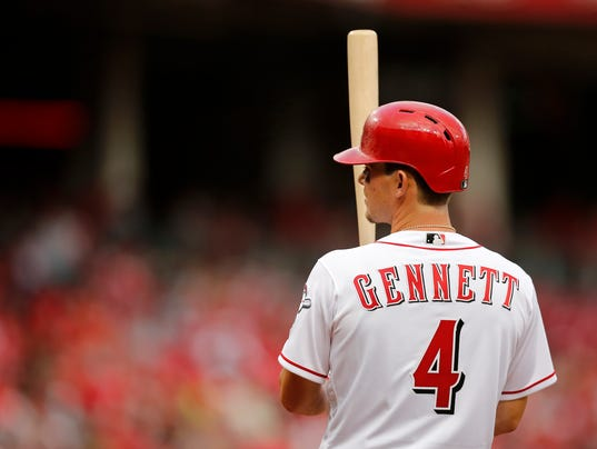 Scooter Gennett: I didn't ask for No. 4