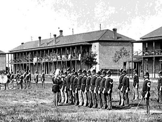 Fort Assiniboine, about nine miles south of Havre, was built after two famous battles at the Bear Paw and the Little Bighorn. The fort is the best-preserved historic U.S. Army Fort in Montana.