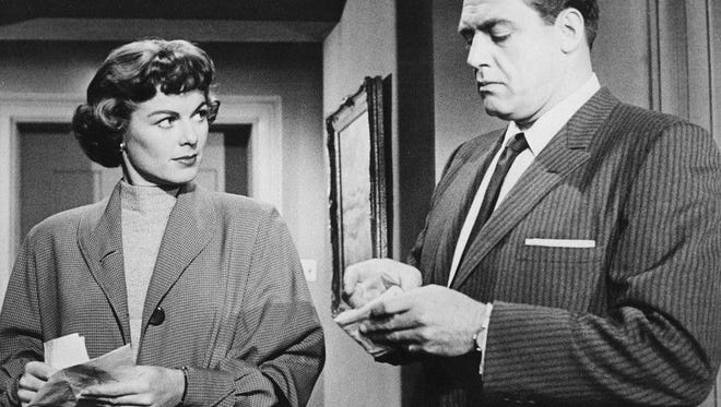 """Barbara Hale and Raymond Burr starred on """"Perry Mason"""" from 1957 to 1966."""