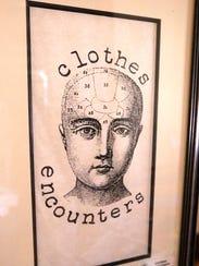 An image of Scott Rodman's clothing store logo that