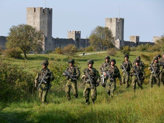 EPA (FILE) SWEDEN DEFENSE CONSCRIPTION POL DEFENCE SWE