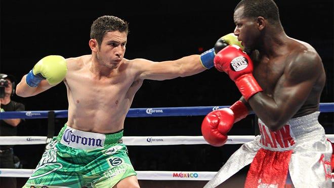 Mauricio Herrera's bout with Hank Lundy didn't reach a definitive conclusion. (Tom Hogan-HoganPhotos/Golden Boy Promotions)