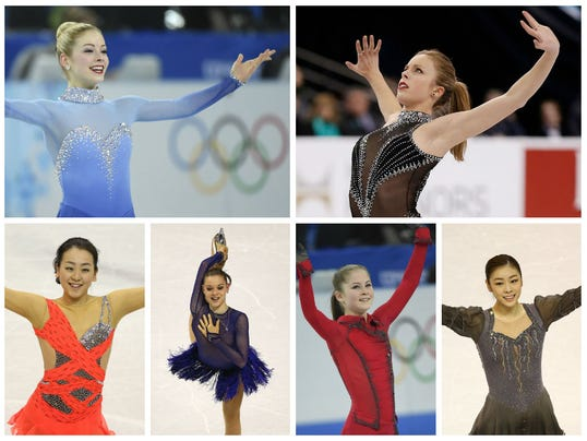 Women of the short program