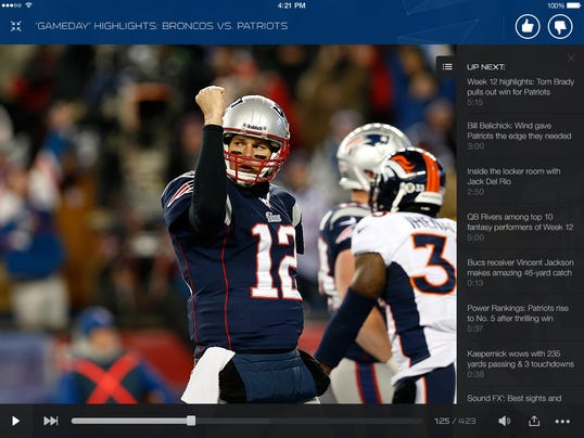 NFL Now Video Player