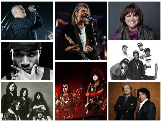 Rock Hall Inductees Poll 2014
