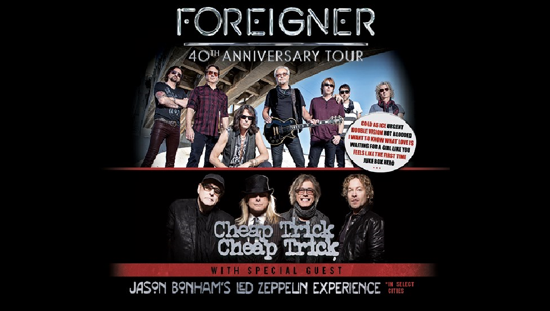 50% Off a Pair of Foreigner Tickets