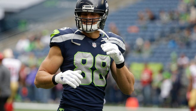 The Packers' Jimmy Graham exemplifies the modern tight end who is a gifted receiver but not much of a blocker.