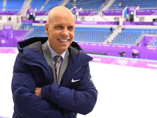 Feb 14, 2018; Pyeongchang, South Korea; Former champion