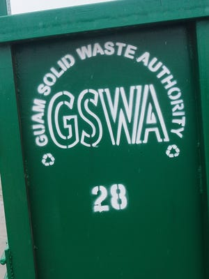 The Guam Solid Waste Authority's Harmon Residential Transfer Station.