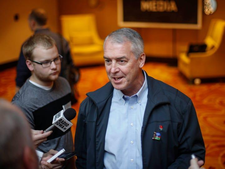 University of Iowa Athletic Director Gary Barta talks
