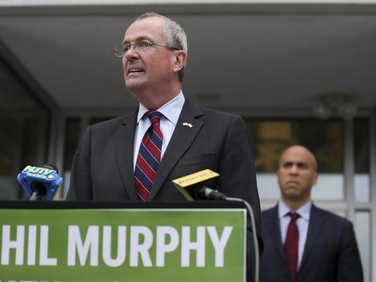 Phil Murphy,Cory Booker
