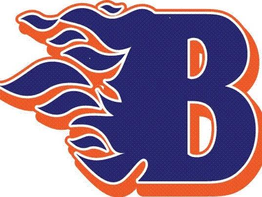 BHS flaming B logo