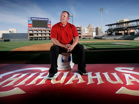 MARK LAMBIEÑEL PASO TIMES  El Paso Manager Pat Murphy is back in El Paso and hope to improve on last season.