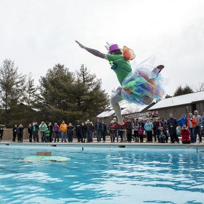 Polar Plunge 2015: Jumpers brave the icy cold for Meals on Wheels