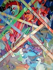 This January brings artist Nancie Gunkelman to the