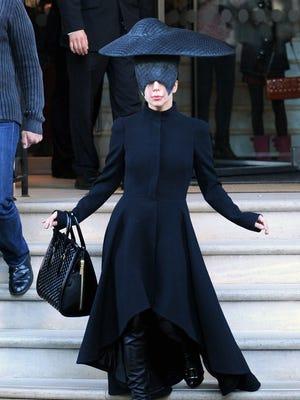 Lady Gaga in London on Oct. 30.