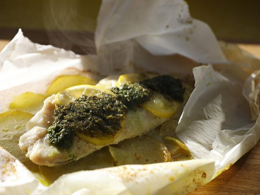 The pretty, fun and surprisingly easy way to cook fish: en papillote