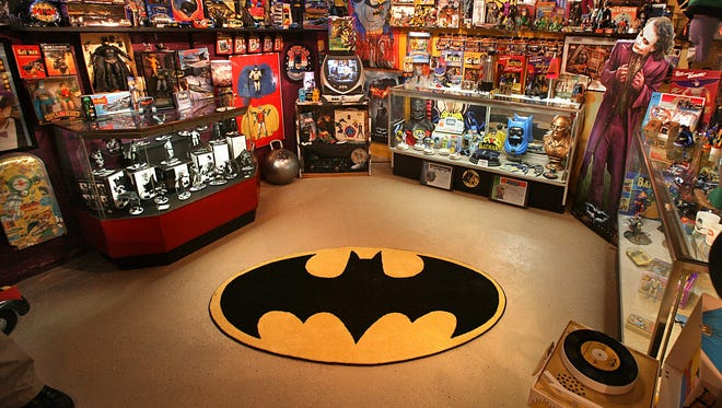 Kevin Silva has more than 2,500 items of Batman memorabilia in his collection.