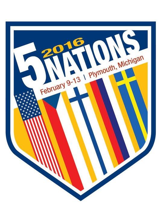2016 U17 Five Nations Logo