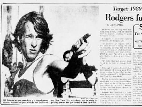 Bill Rodgers first ran in Phoenix in the 1979 Runner's