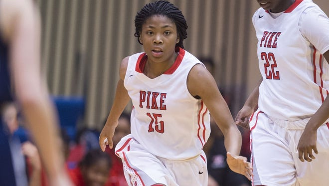 Pike's Angel Baker was named to the All-County team.