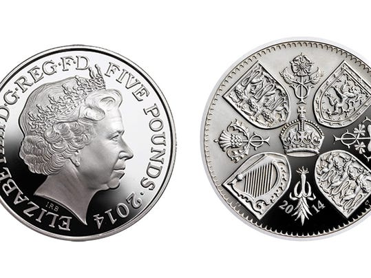Prince George's birth coin
