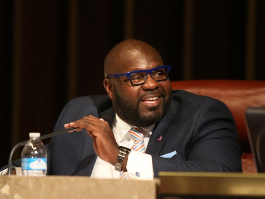October 4, 2016 - Memphis City Councilman Berlin Boyd