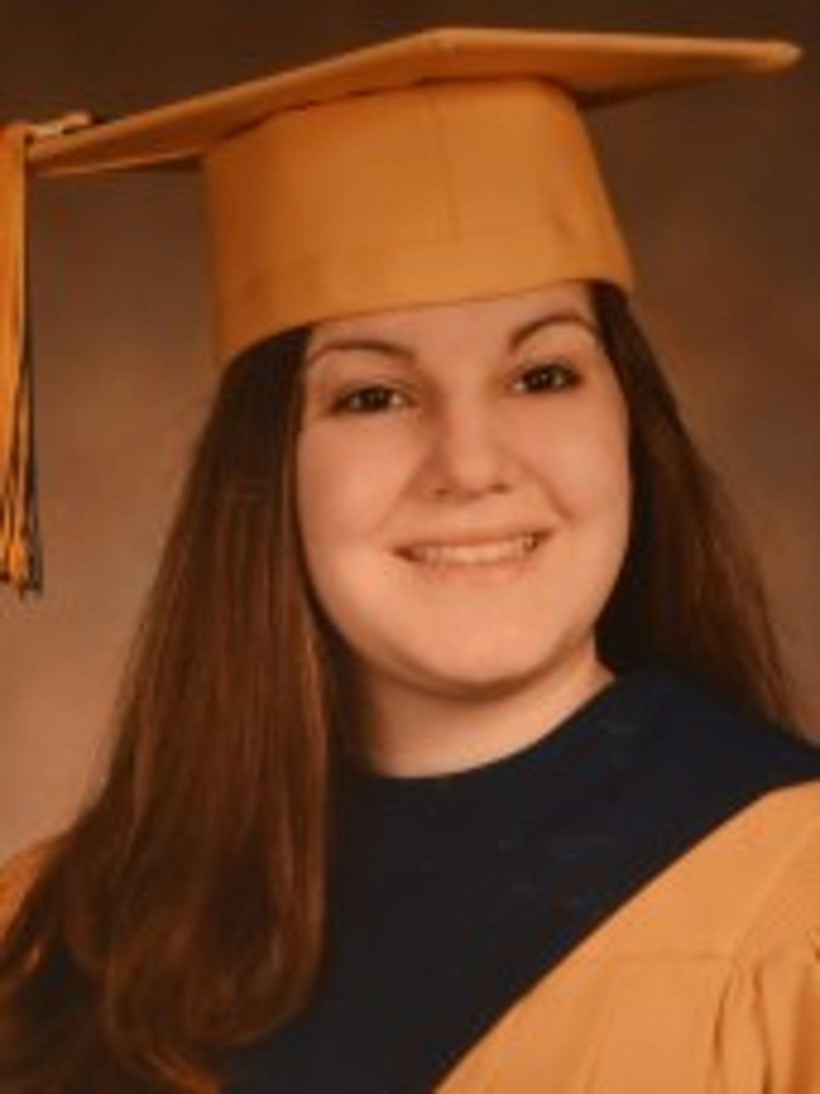 The body of Jody Rilee-Wilson, a 2003 Roxbury High