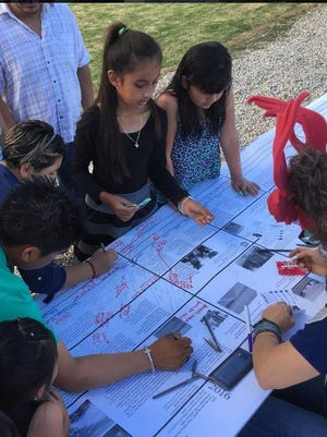 Members of the Oasis community gathered in their first soccer park on Oct. 30 to share their experiences and ideas for the future.