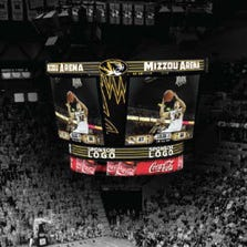 Mizzou Arena will have a new, state-of-the-art high definition video board for the 2014-15 season.