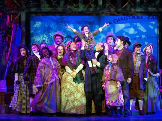 Walnut Street Theatre's presentation of 'A Christmas Carol,' a Philadelphia holiday tradition.