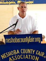 House Speaker Philip Gunn, R-Clinton, speaks about